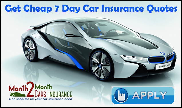 Car Insurance For 7 Days For Learner Drivers With No Deposit