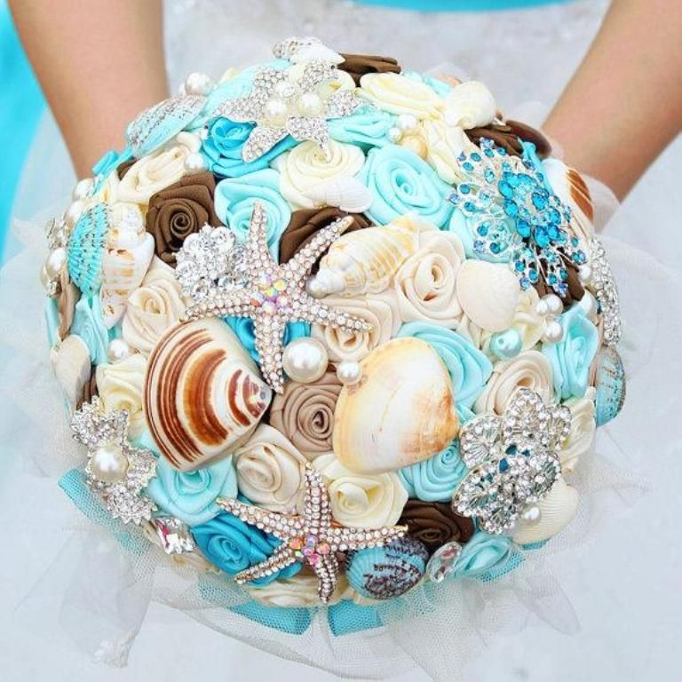 How to Design Your Brooch Bouquet | Brooch bouquets, Tiffany blue ...
