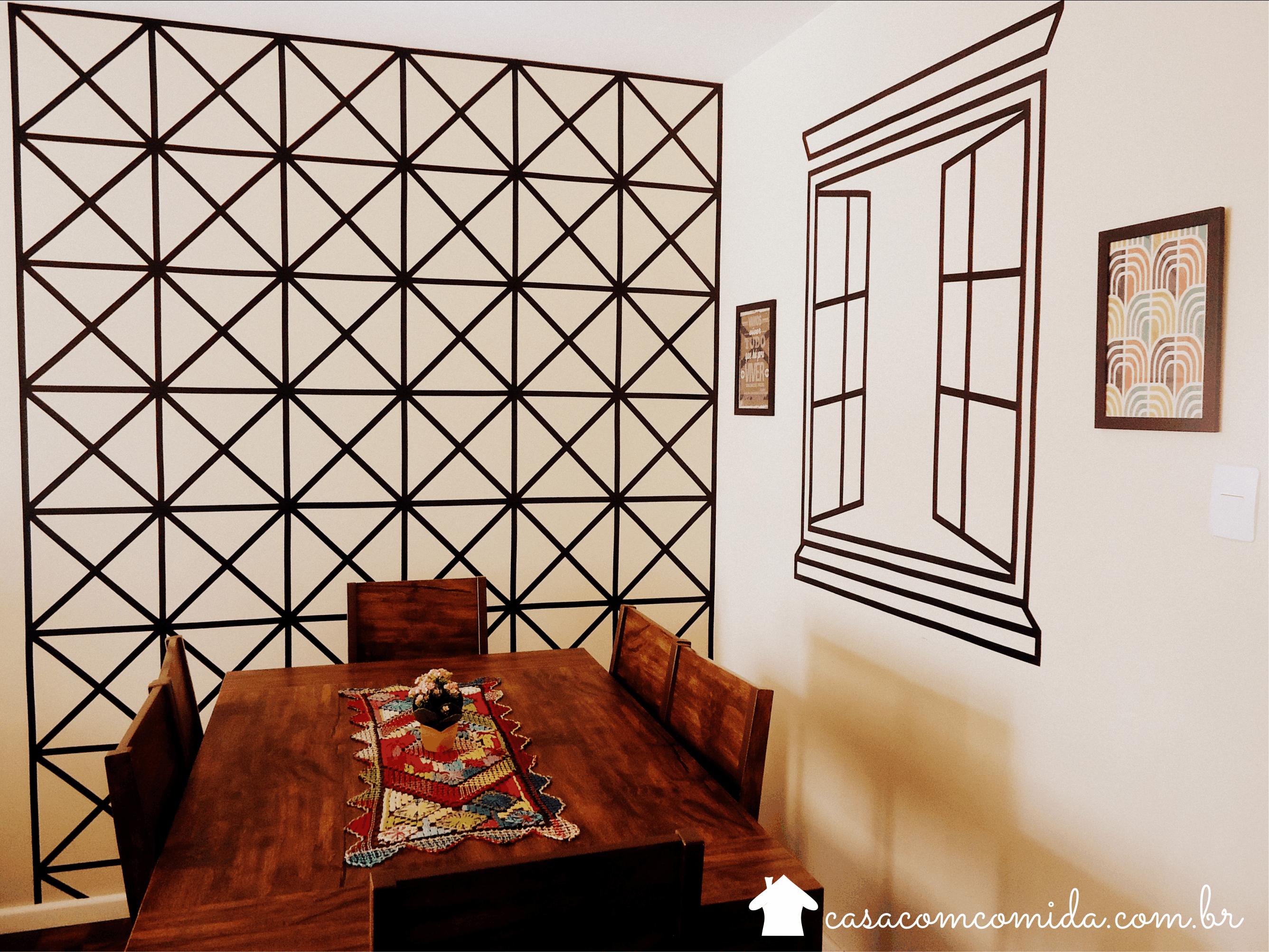 Casa com comida quer decorar suas paredes que tal usar for Pintar paredes casa