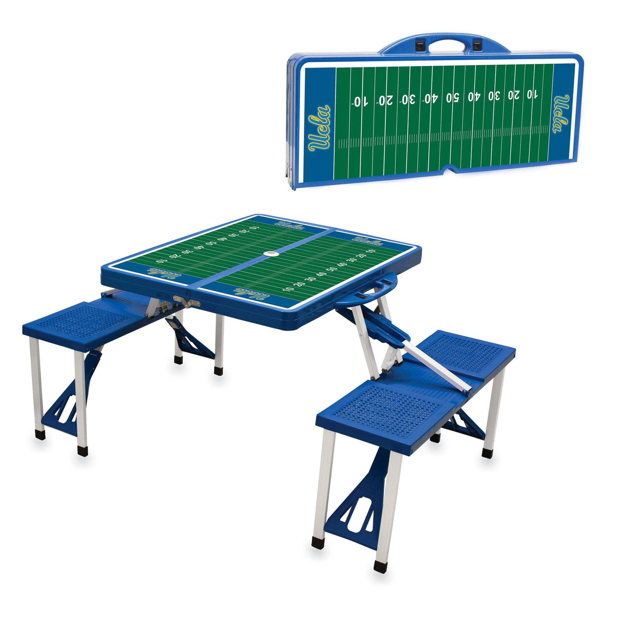 NCAA Picnic Table Sport Blue (UCLA Bruins) Digital print