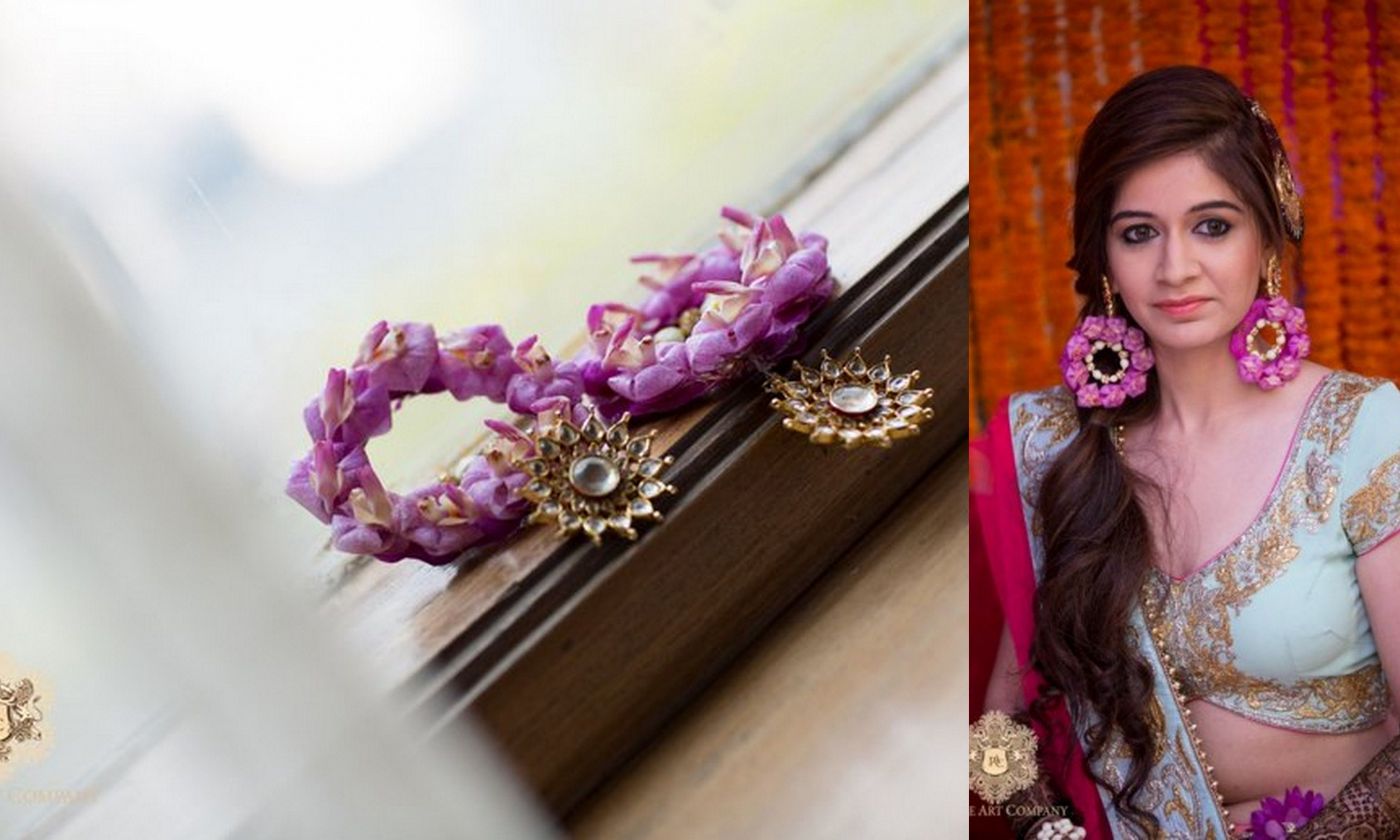 Mehndi Flower Jewellry : Image result for mehndi floral jewellery jewelry