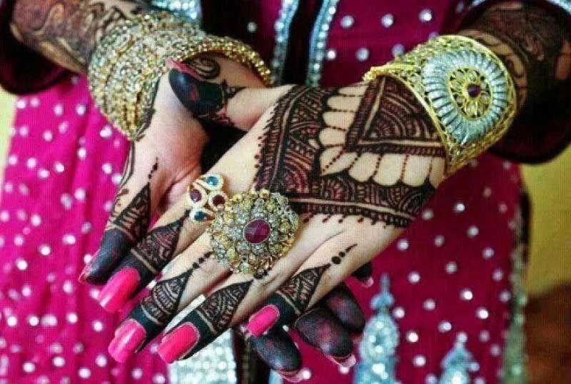 Bridal Mehndi Ideas : Arabic bridal henna mehndi ideas designs