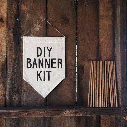 DIY Banner Kit by Secret Holiday
