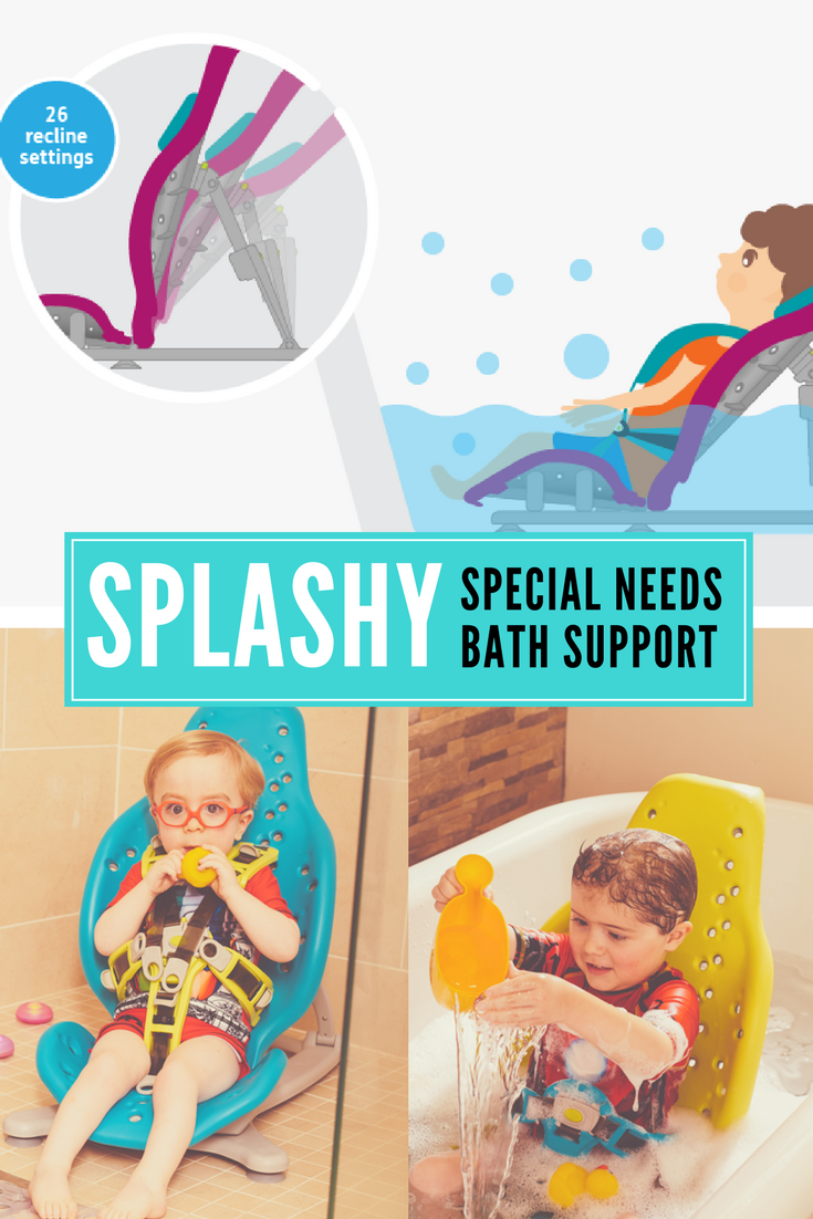 Paediatric special needs bath support seat from FireFly. This bath ...