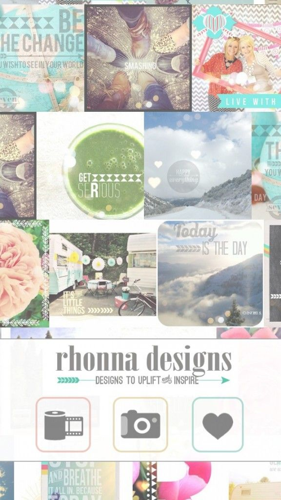 Breathe Some Personality Into Your Photographs With Rhonna Designs -- AppAdvice
