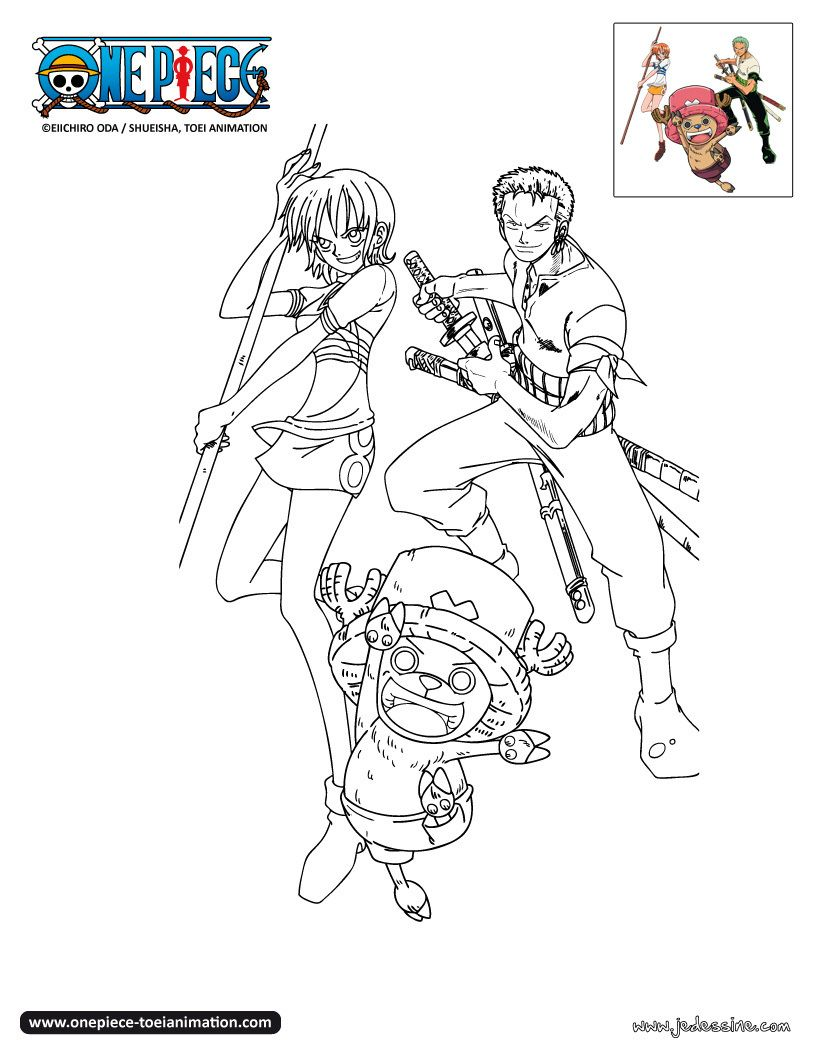 Coloriage one piece coloring pages pinterest - Dessin a imprimer one piece ...