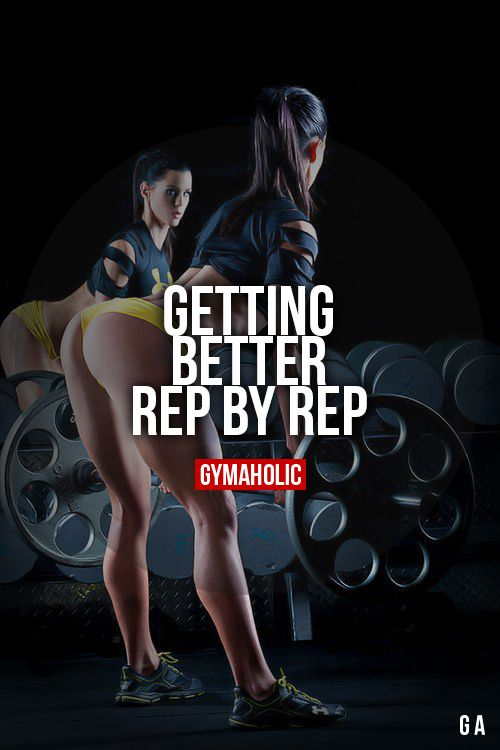 Getting Better, Rep By Rep More motivation -> http://www.gymaholic.co/ #fit…