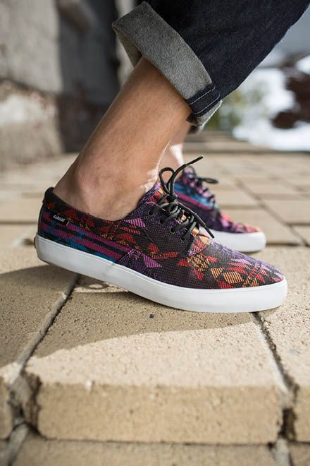 Lakai Camby Oasis Textile Skate Shoes