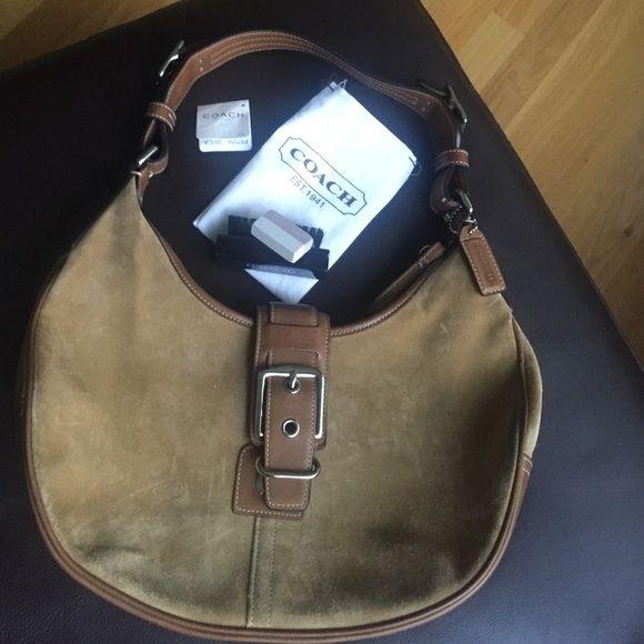 Bag Coach Handbag With Cleaning Kit