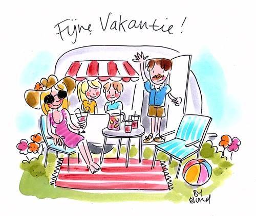 Fijne Vakantie! by Blond-Amsterdam | Blond amsterdam, Vakantie ...