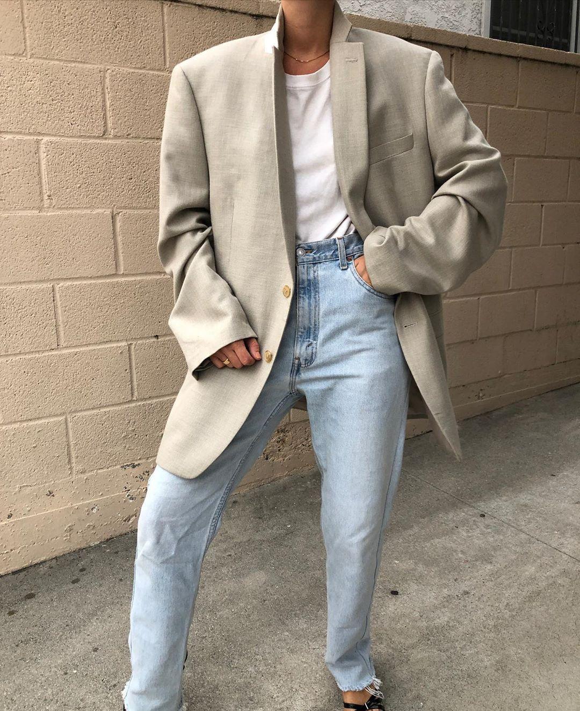Vintage Straight Blazer