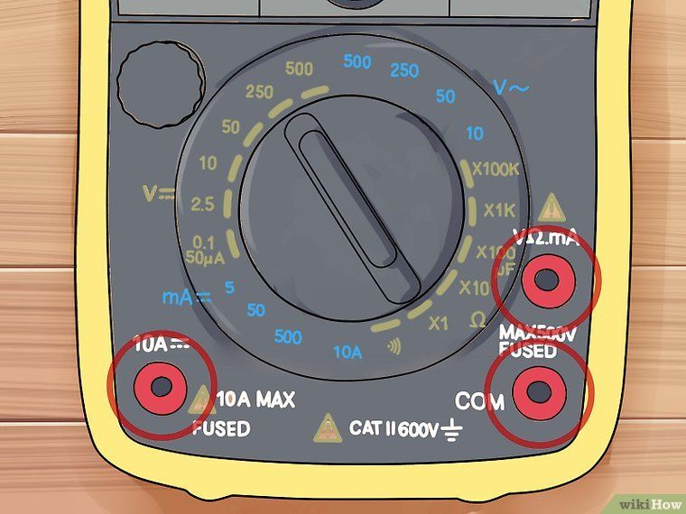 How to read a multimeter with pictures multimeter diy
