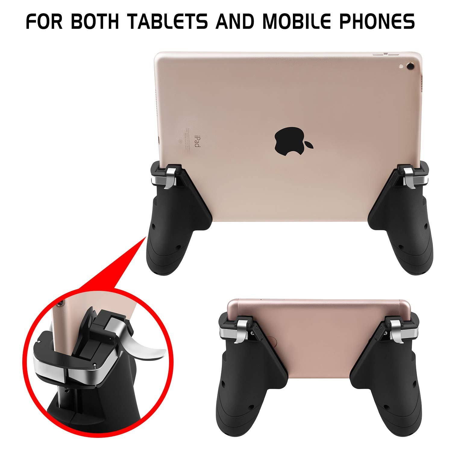 AnoKe Tablet Controller - Tablet Game Trigger/Mobile Gaming
