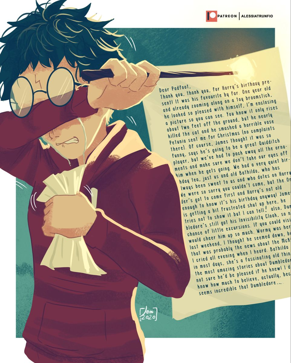 Alessia Trunfio Is Creating Illustrations And Fanarts Patreon In 2021 Harry Potter Artwork Young Harry Potter Harry Potter Comics