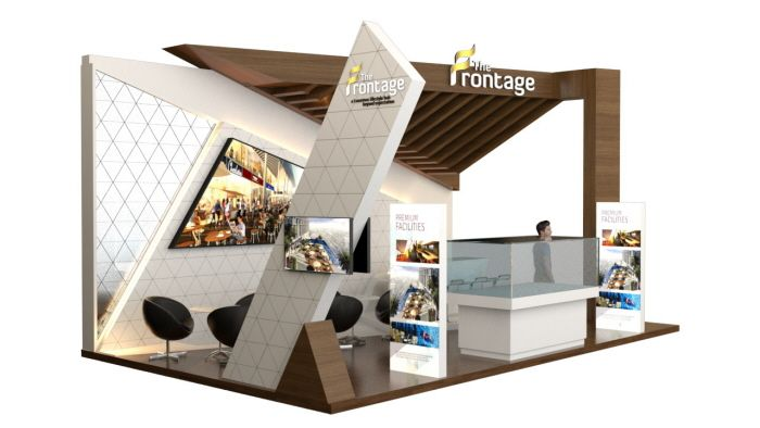 Expo Stands Kioski : The frontage exhibition by achda adiji at coroflot expo