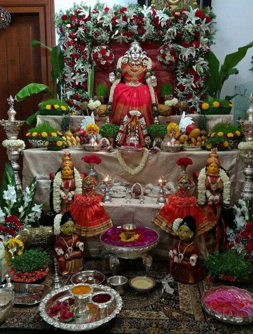 Lakshmi Festival DecorationsHouse Lakshmi mahalakshmi