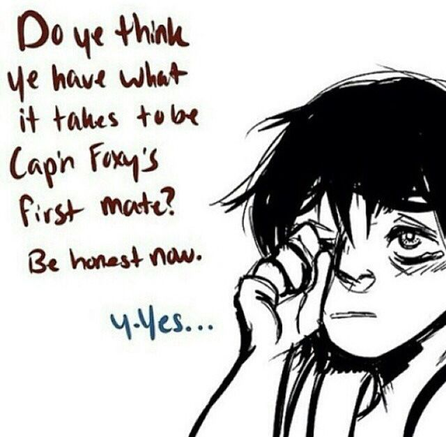 technically Five Nights at Freddy's fanart - Part 3 AWWWWWWWWW This is why i love Foxy ;)