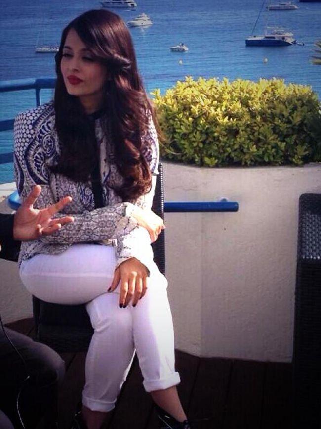Aishwarya Rai Bachchan's Cannes Film Festival Diary. #Style #Bollywood #Fashion #Beauty #Cannes2014