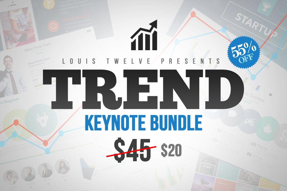 55% OFF Trend - Keynote Bundle by Louis Twelve on Creative Market ...