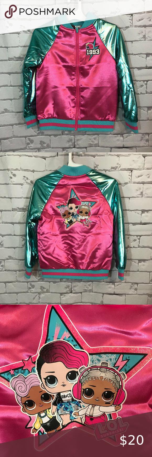 Lol Surprise Girls Bomber Jacket Girls Bomber Jacket Kids Black Jacket Girls Denim Jacket [ 1740 x 580 Pixel ]