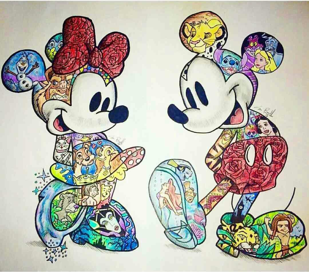 Disney You Re Amazing: Dibujos, Disney And Arte