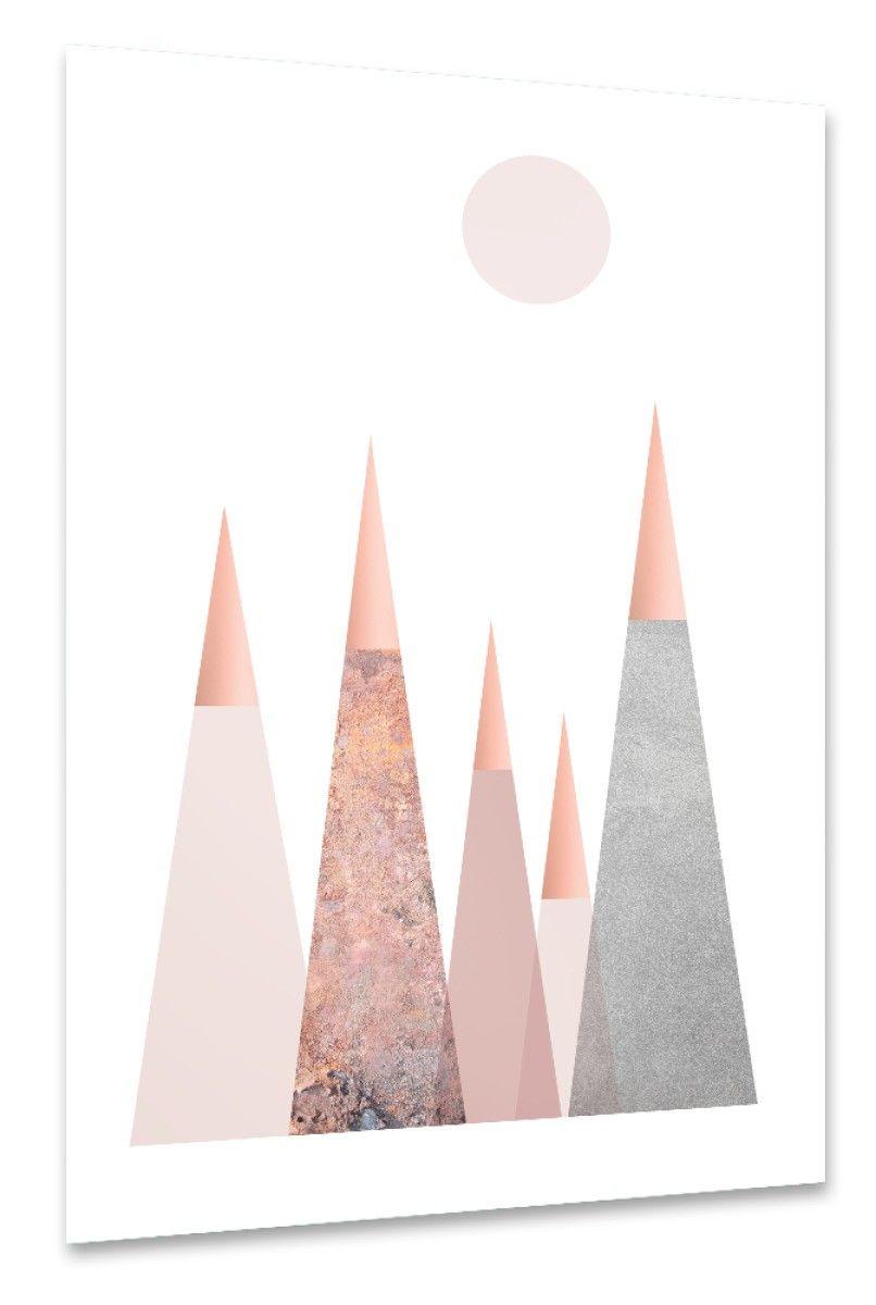 Best Scandi Mountains Poster Als Wandbild Und Smartphone Cover 400 x 300