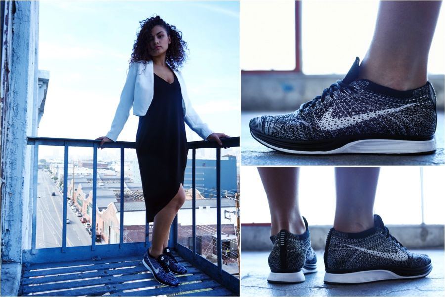 "ON-FOOT LOOK    NIKE FLYKNIT RACER ""OREO 2.0""  f09f347ac"