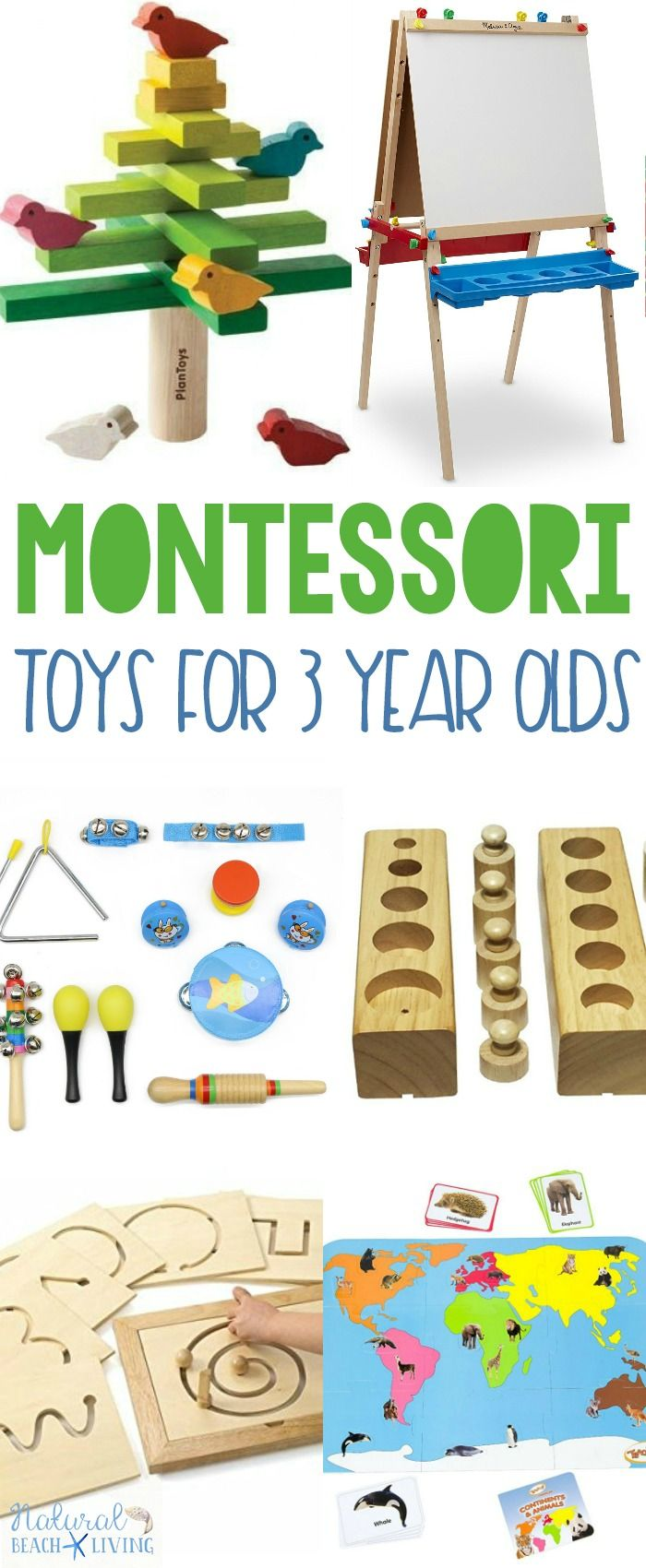 montessori gifts 3 year olds love | natural beach living