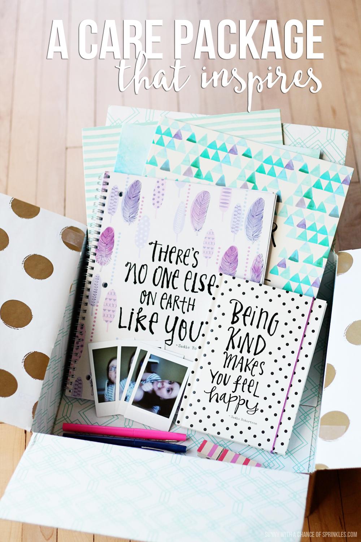 Best friend scrapbook ideas - A Best Friend Care Package That Inspires Dayspringsadierob Liveoriginal Pmedia