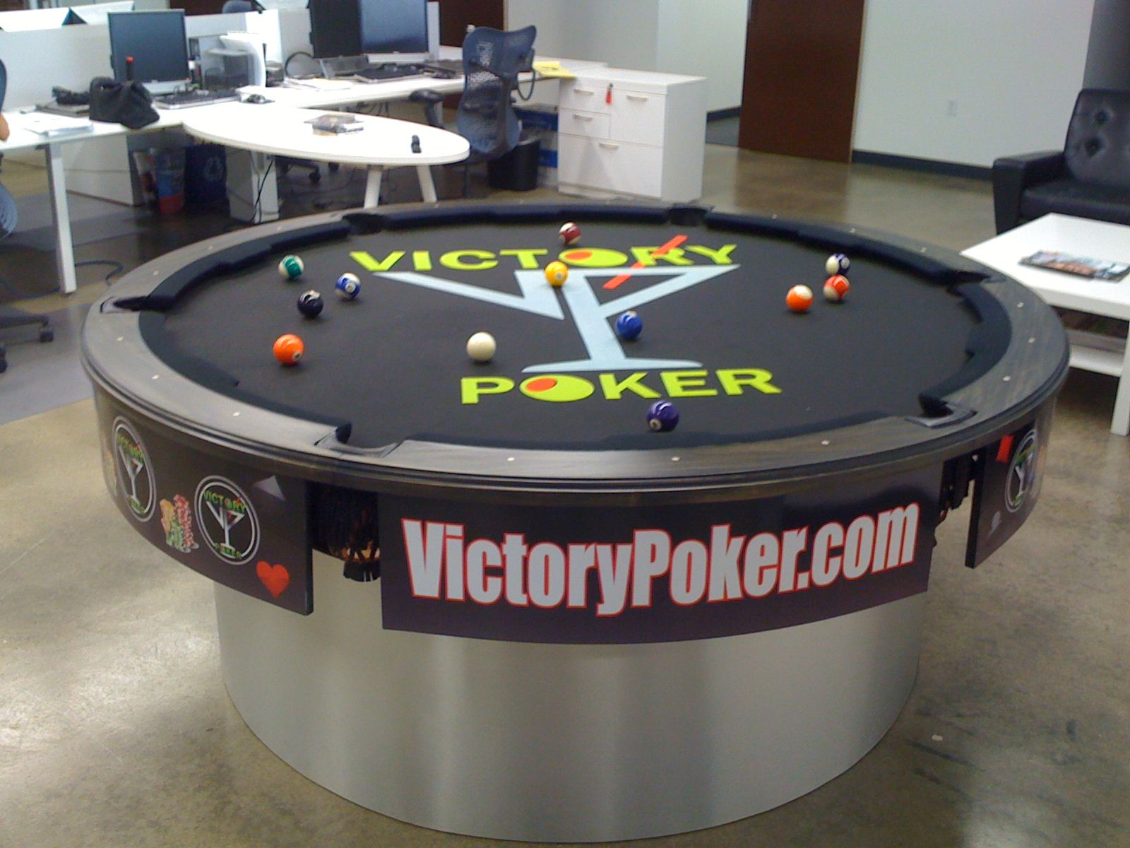 Pool Table Pool Tables Round base Pinterest Pool