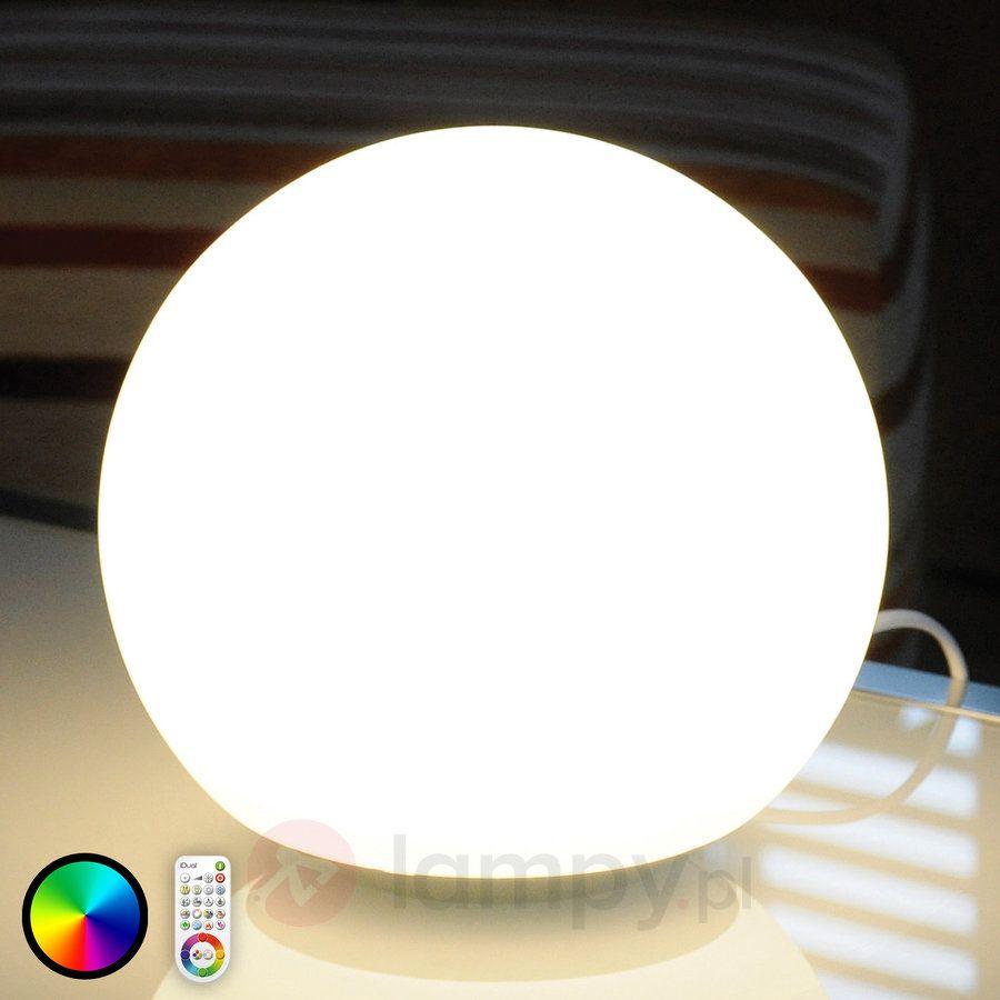 Szklana lampa stołowa Dahlia z LED RGB i FB 9038001   buy lampa ...