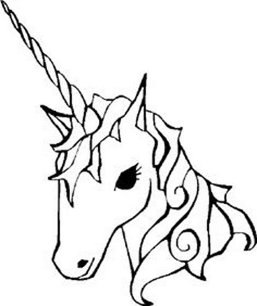 Unicorn drawing easy