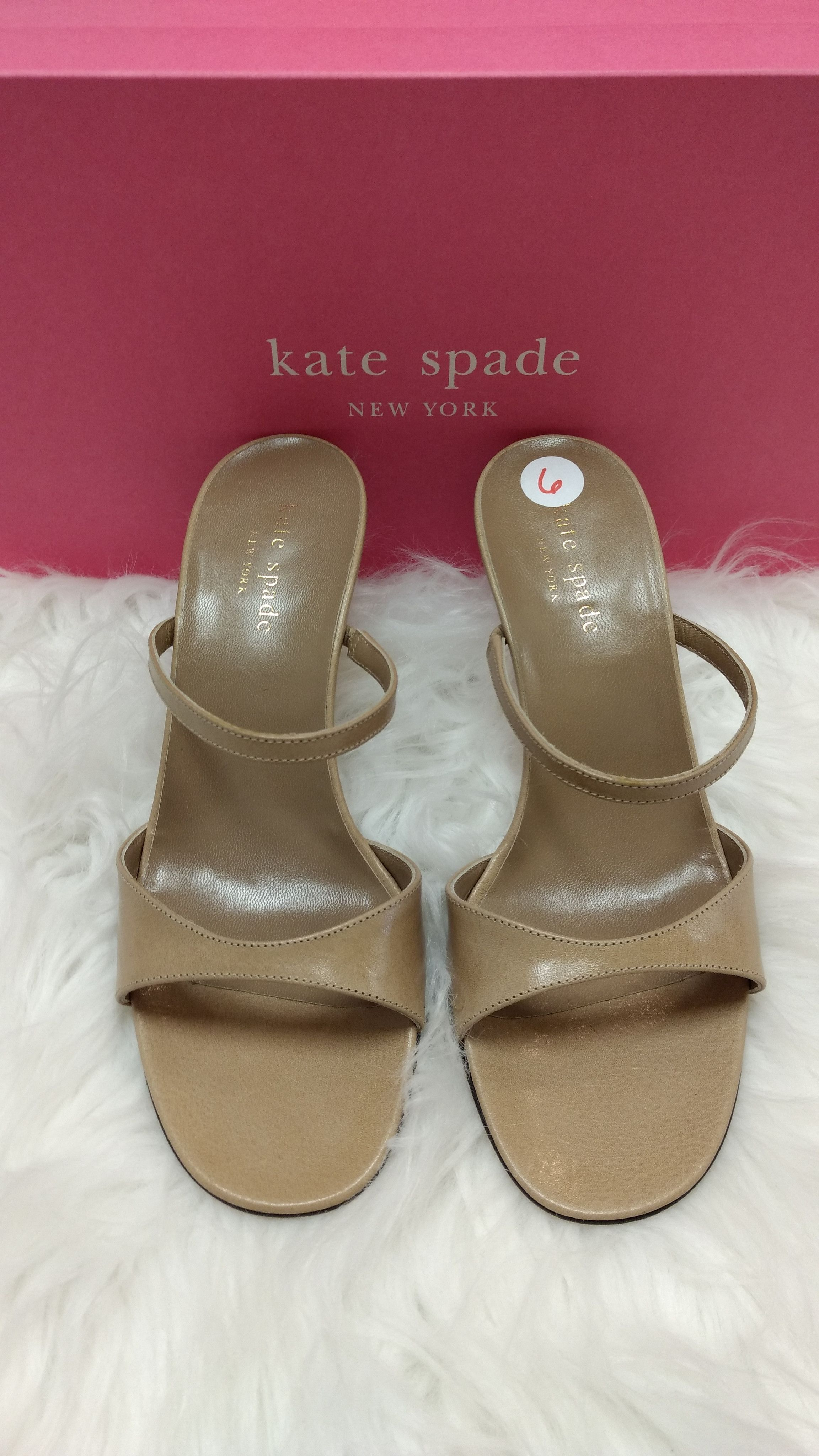 Kate Spade Nude Heels Size 6 | Shoes | Pinterest