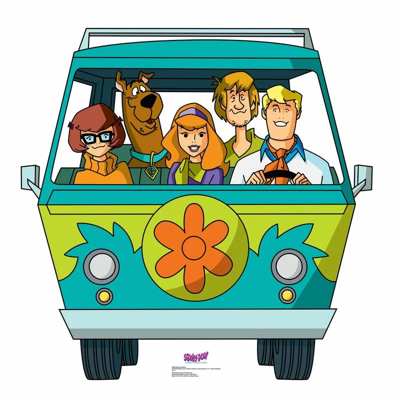 Advanced Graphics Scooby Doo Mystery Incorporated Mystery Machine Standup Scooby Doo Mystery Incorporated Scooby Doo Mystery Inc Scooby Doo Pictures