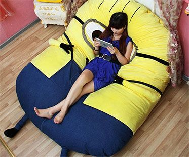 I really want this minions-bean-bag-bed!!! | Adorable! | Pinterest ...