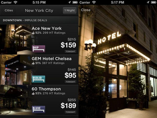 Hotel Tonight app free credit free hotel nights (With