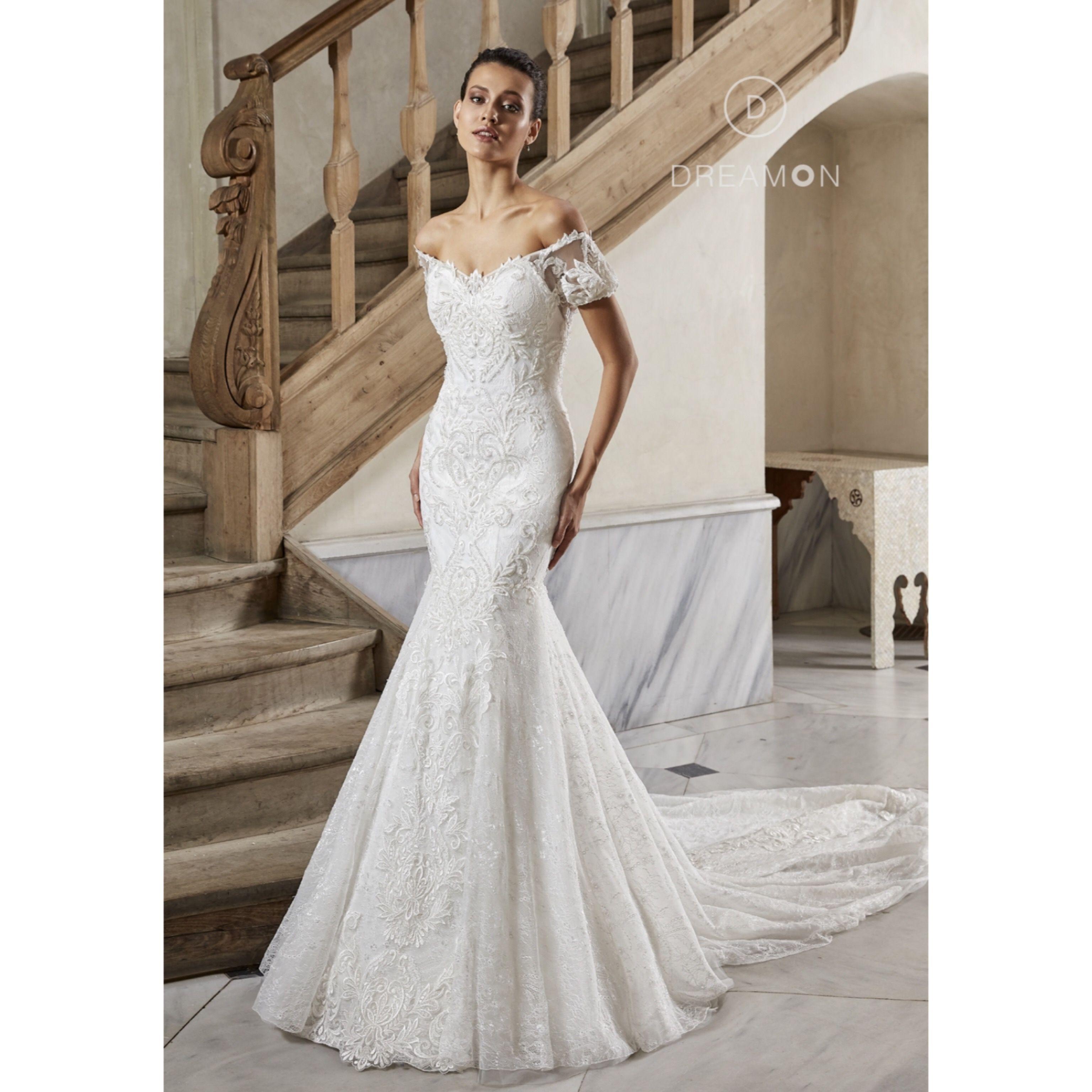 Kallisto Kisa Balon Kollu Kuyruklu Balik Gelinlik Modeli Dreamon Com Tr Gelinlik Couture Prenses Gelinlikleri