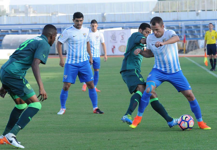 El partido del Málaga contra el Al Ahli, en imágenes