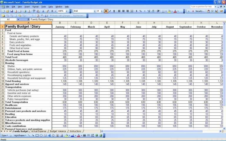 5 Personal Budget Spreadsheet Templates Budget Spreadsheet