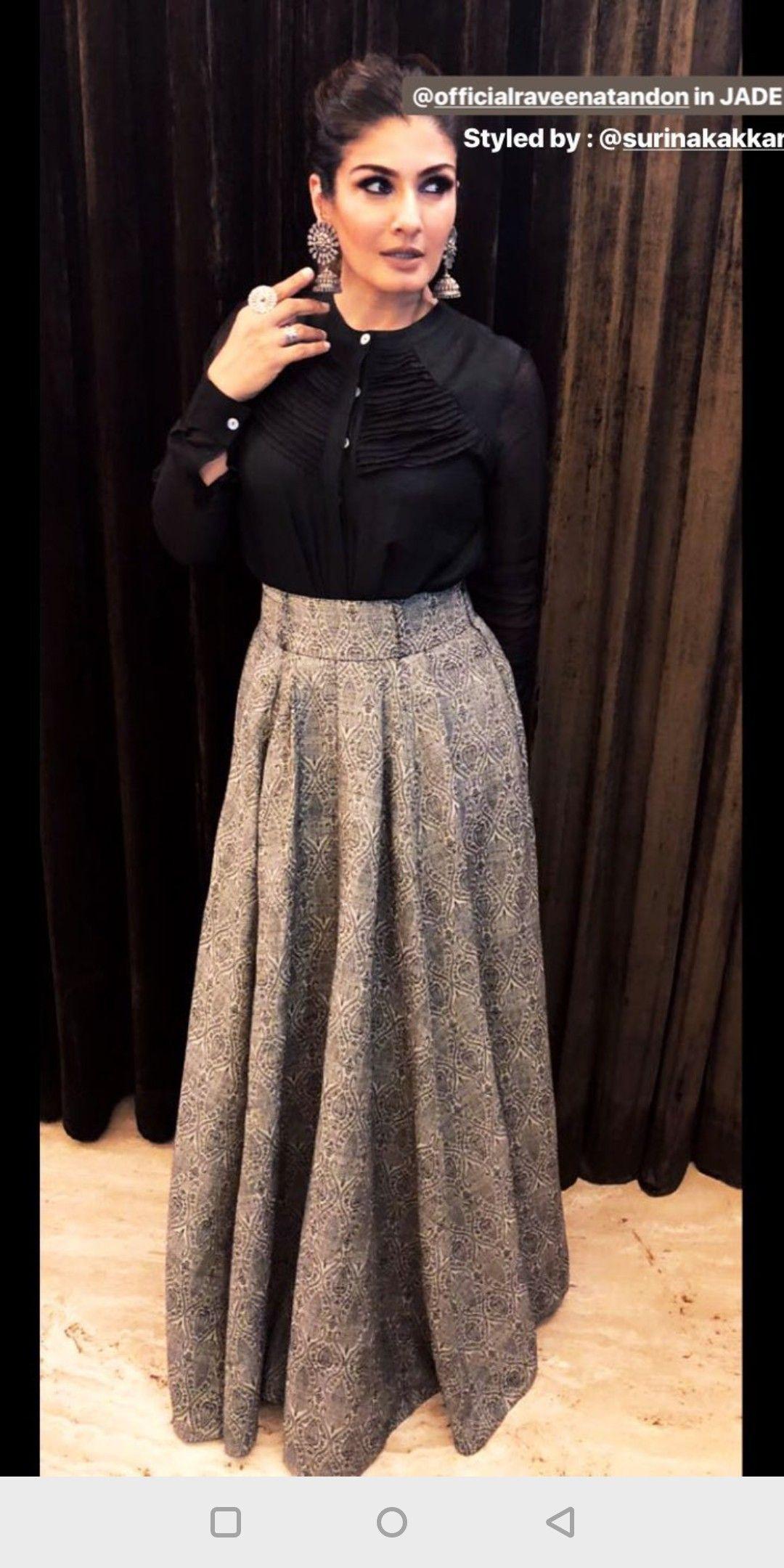 b865a365794fa0 Skirt n crop top