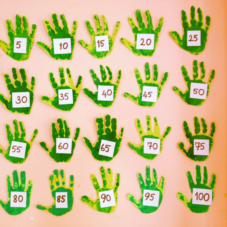 5er 5er Sayma Tablosu Birinci Sınıf Skip Counting Math Ve