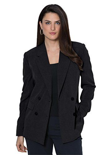 Jessica London Women's Plus Size Double-Breasted Bi-Stret... https://www.amazon.com/dp/B00LD27K66/ref=cm_sw_r_pi_dp_x_OgdaybAQS1HE9