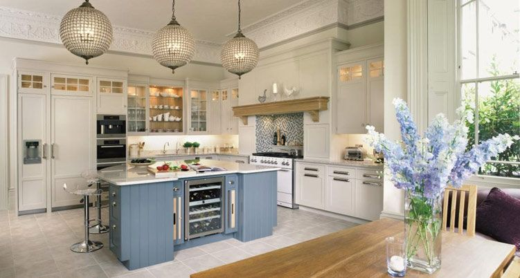 The new england kitchen by mark wilkinson furniture for New england kitchen designs