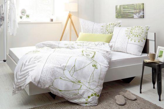 Dekorative Bettwäsche im Buddha-Design - Harmonie und Ruhe für Ihr Bett
