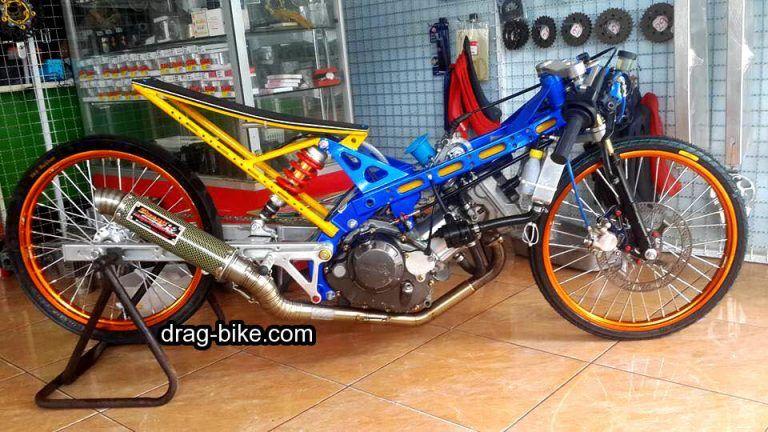 Modif Honda Sonic Thailand Racing Drag Racing Honda Mobil