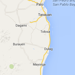 Tacloban Philippines Map.From My Hometown Abuyog To Tacloban City Leyte Philippines