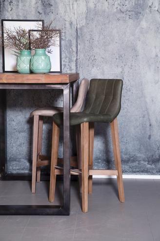 barhocker vintage kunstleder landhaus m bel bei. Black Bedroom Furniture Sets. Home Design Ideas