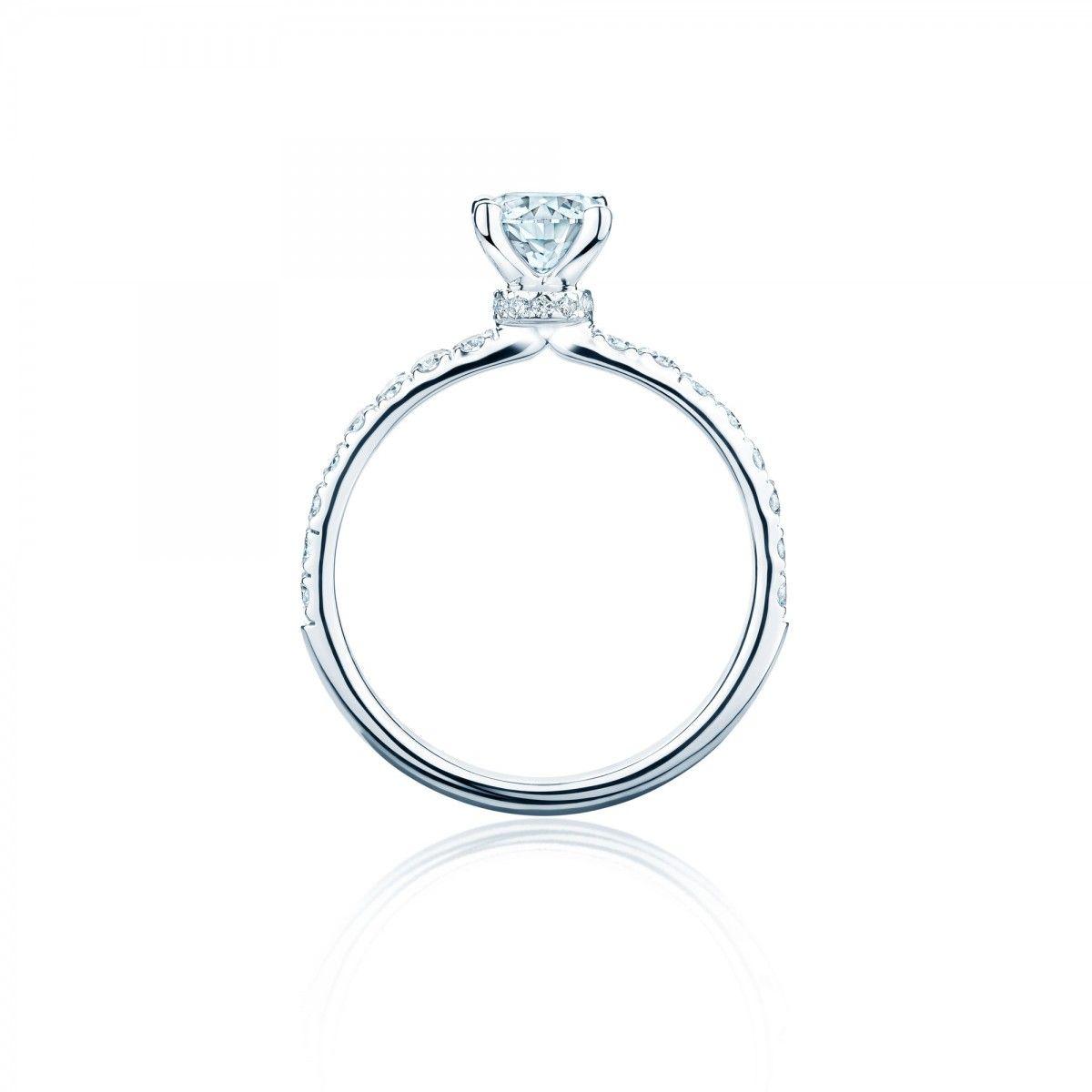 Birks Deco Canadian Diamond Pave Engagement Ring Engagement Rings Pave Diamond Engagement Rings Pave Engagement Ring