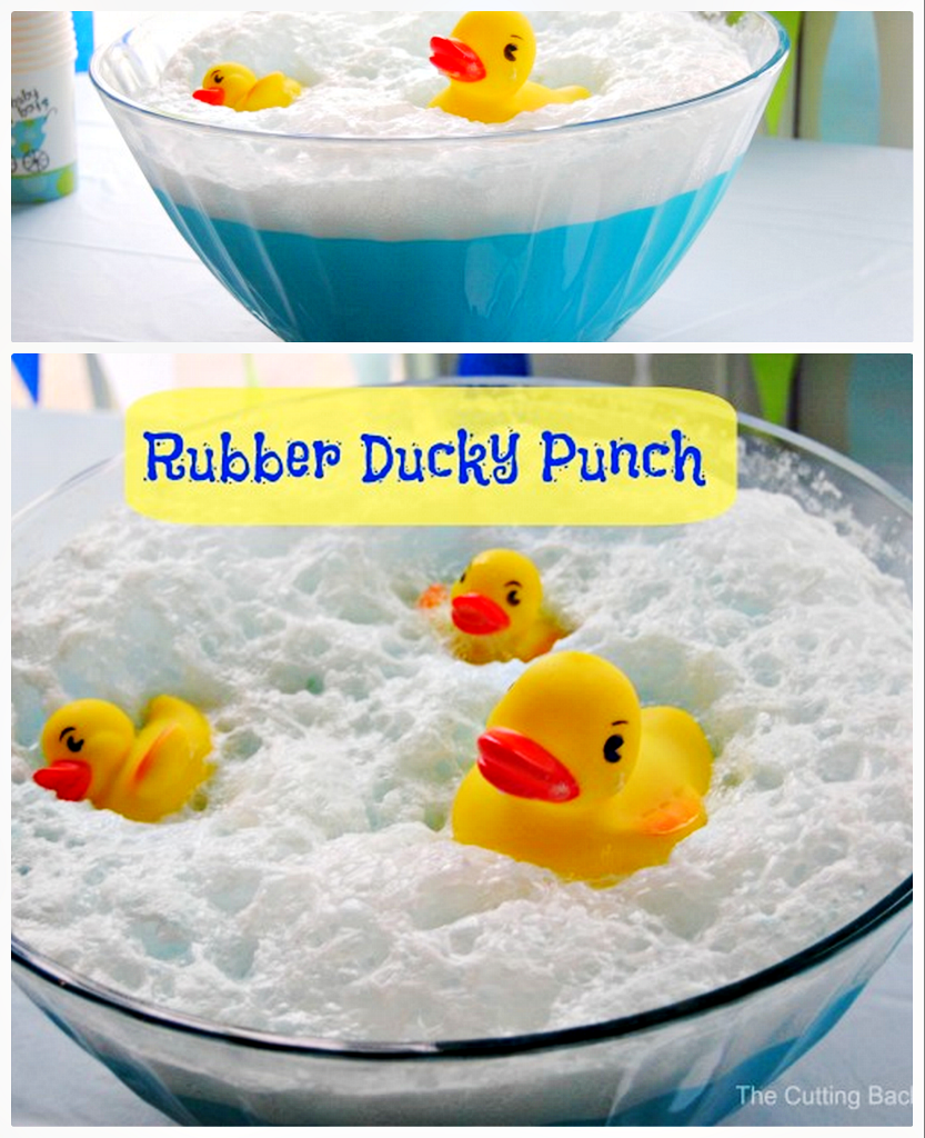 How To Make Baby Shower Punch: Rubber Duck Baby Shower Punch Recipe Video Tutorial
